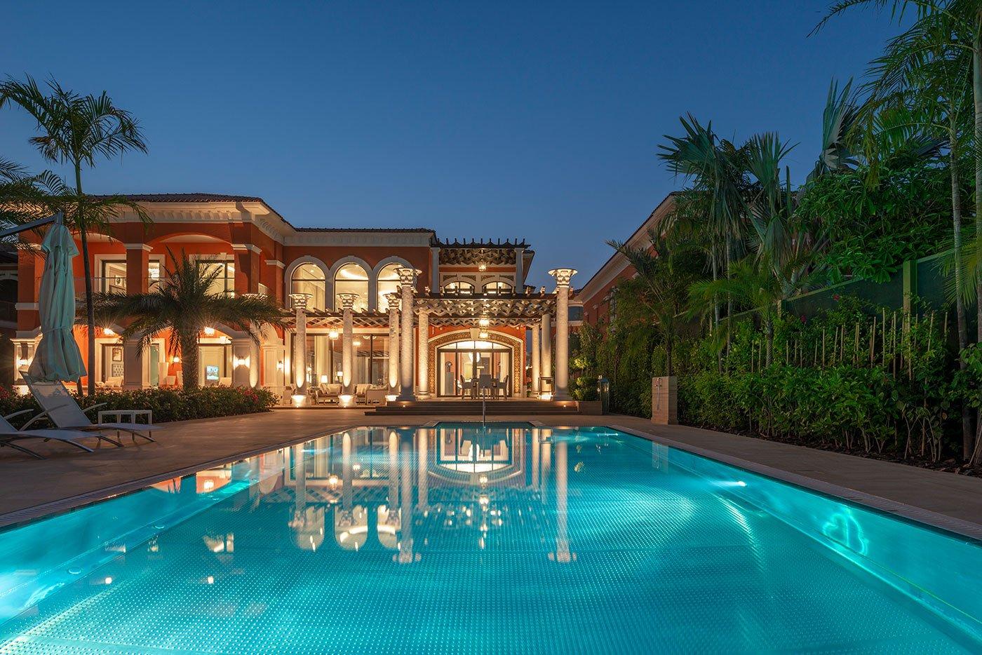 luxury villa photography abu dhabi