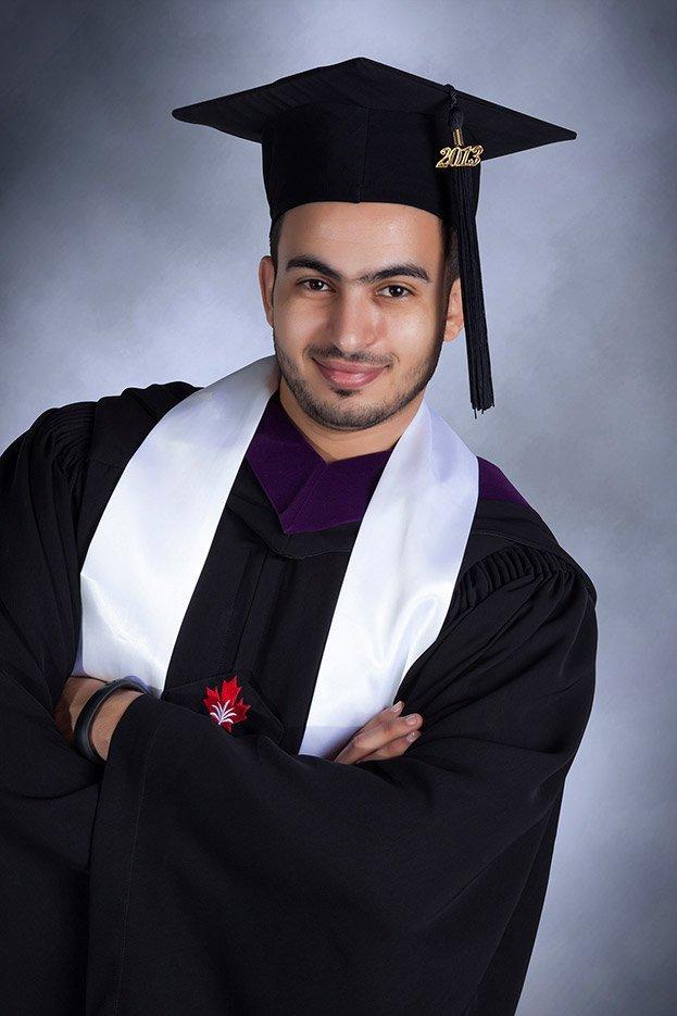 graduation portrait photography dubai
