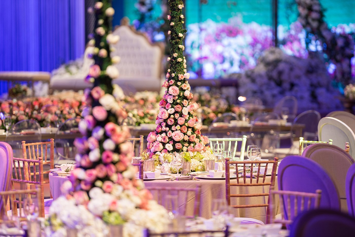 ballroom interior photography