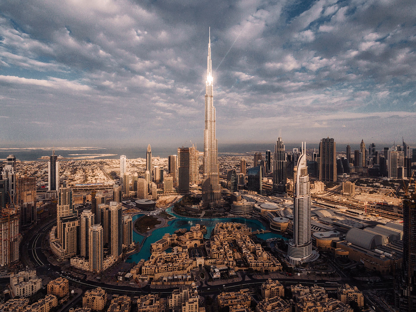 aerial photographer dubai