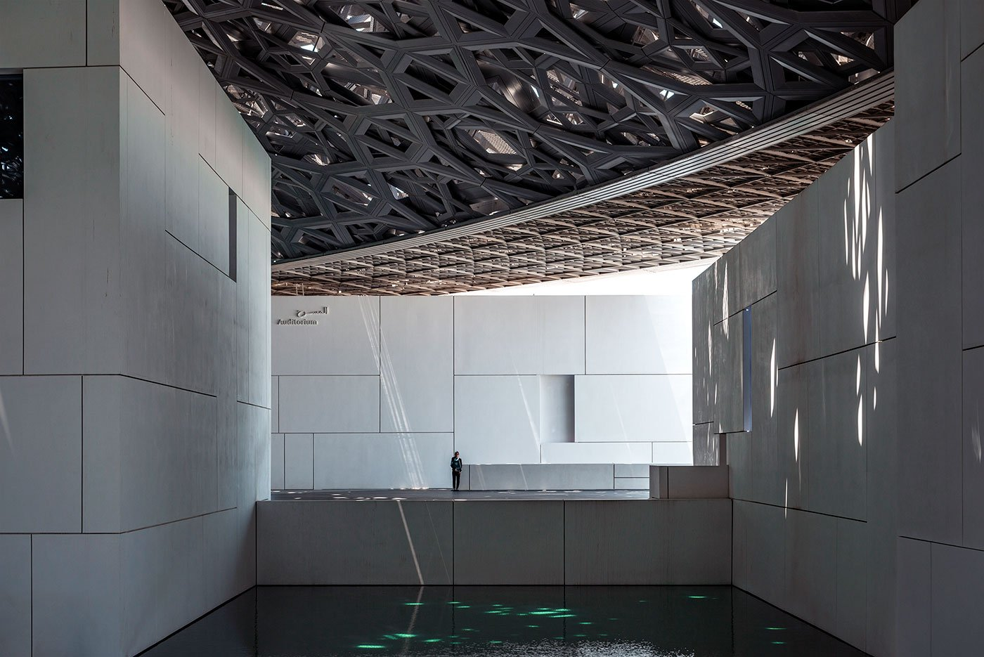 Under the dome of Louvre Abu Dhabi
