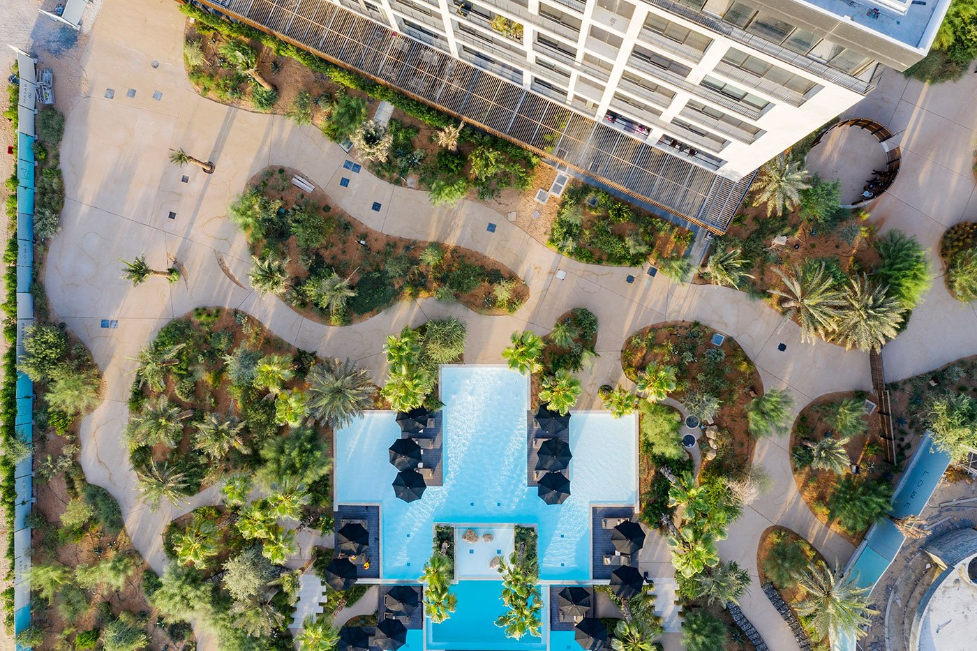 aerial architecture photography dubai