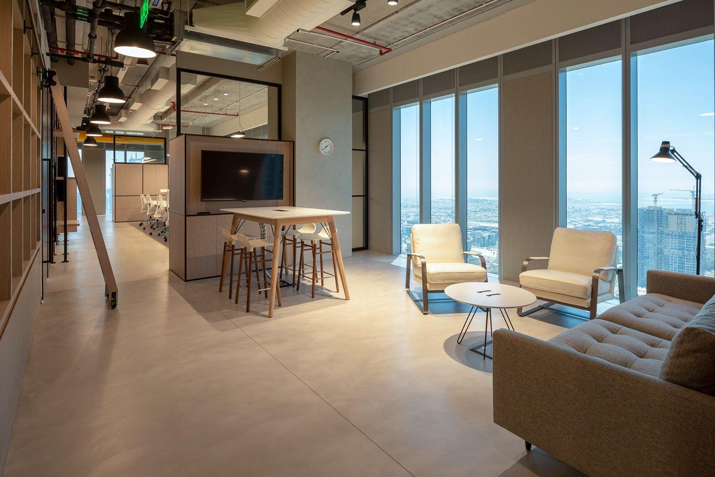workspace interior photographer dubai